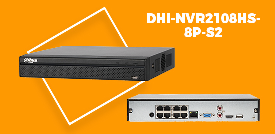 DHI-NVR2108HS-8P-S2