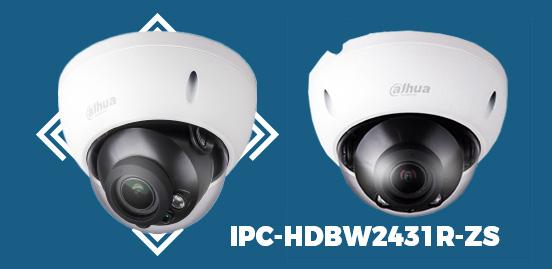 IPC-HDBW2431R-ZS 4MP WDR IR Dome Network Camera