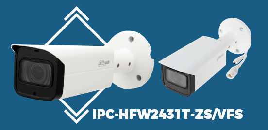 IPC-HFW2431T-ZS VFS 4MP WDR IR Bullet Network Camera